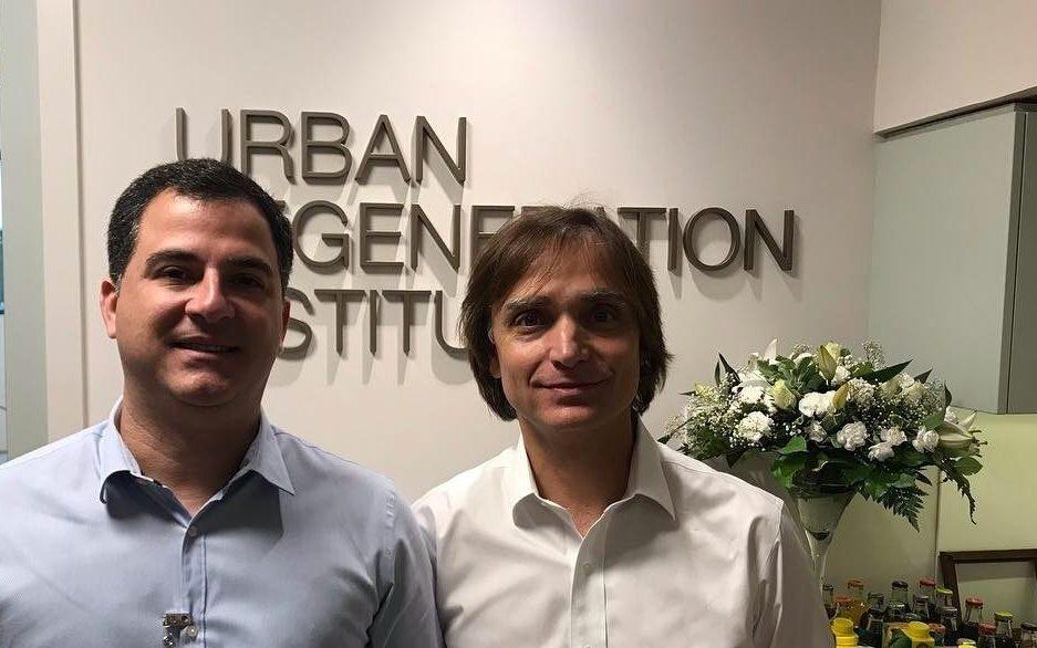 Dr. Marcio André Costa e Dr. Istvan Urban